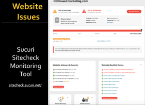 Sucuri Report Website Security & Maintenance Plan by Hit-the-Web Marketing